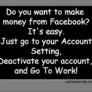 Do you want to make money from Facebook? It's easy …