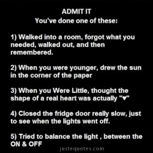 Admit it, you've done one of these