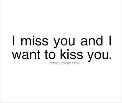 i want to be kissed